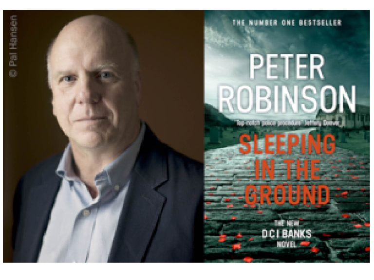 Peter Robinson – Sleeping in the Ground