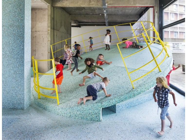 The Brutalist Playground