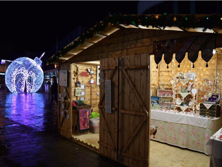Carmarthen Christmas Market 2017