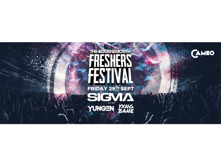 The 2017 Bournemouth Freshers Festival!
