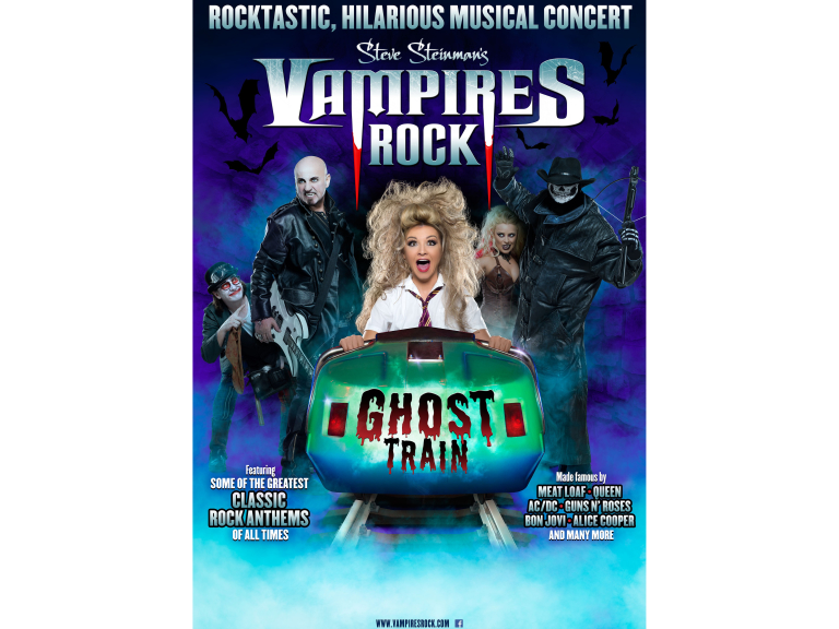 Vampires Rock: Ghost Train in Shrewsbury
