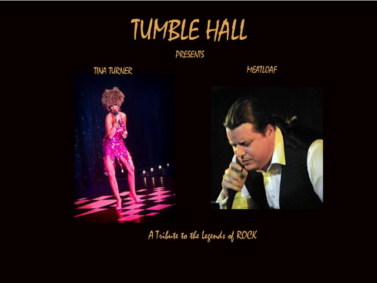 Meatloaf & Tina Turner Tribute Show
