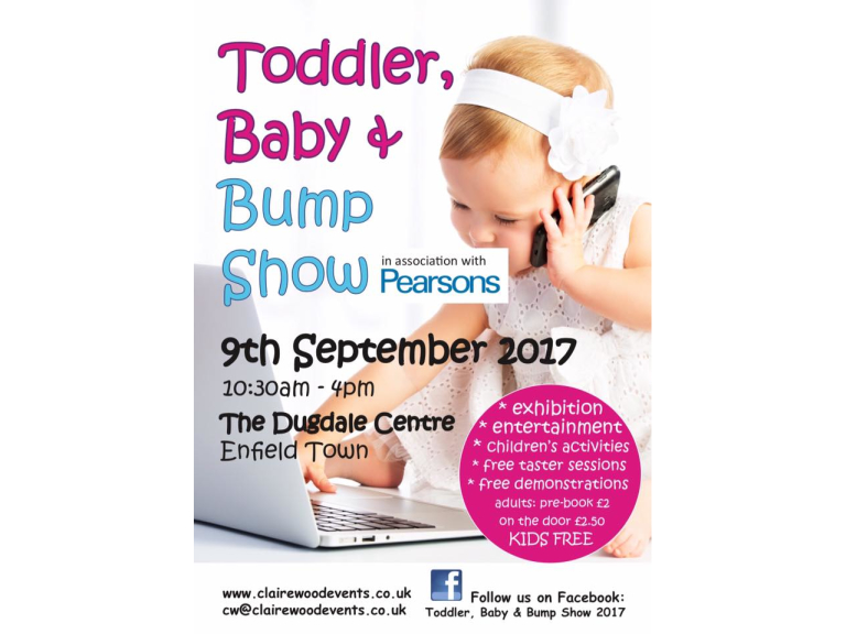 Toddler, Baby and Bump Show 2017
