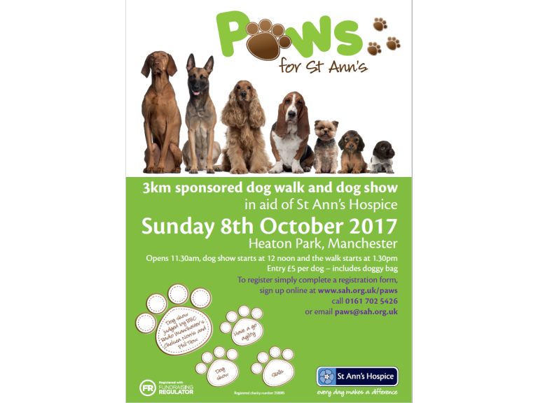 Paws for St Ann's