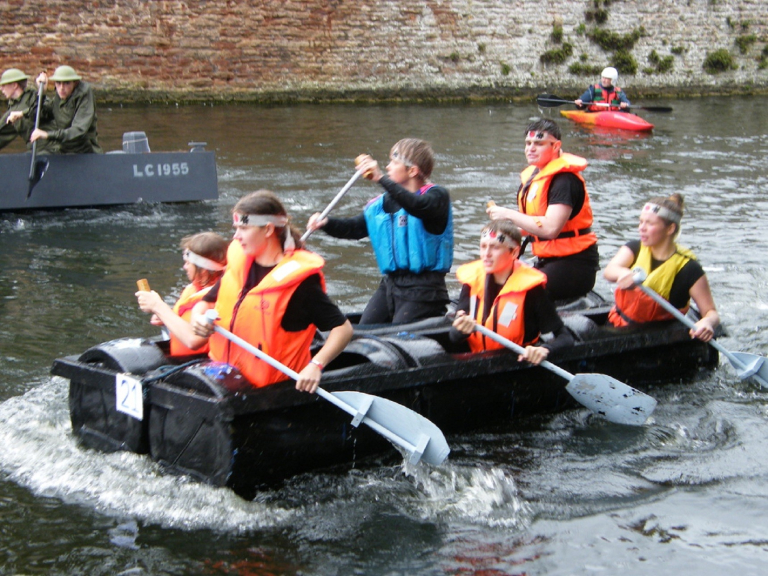 The Wells Moat Boat Race