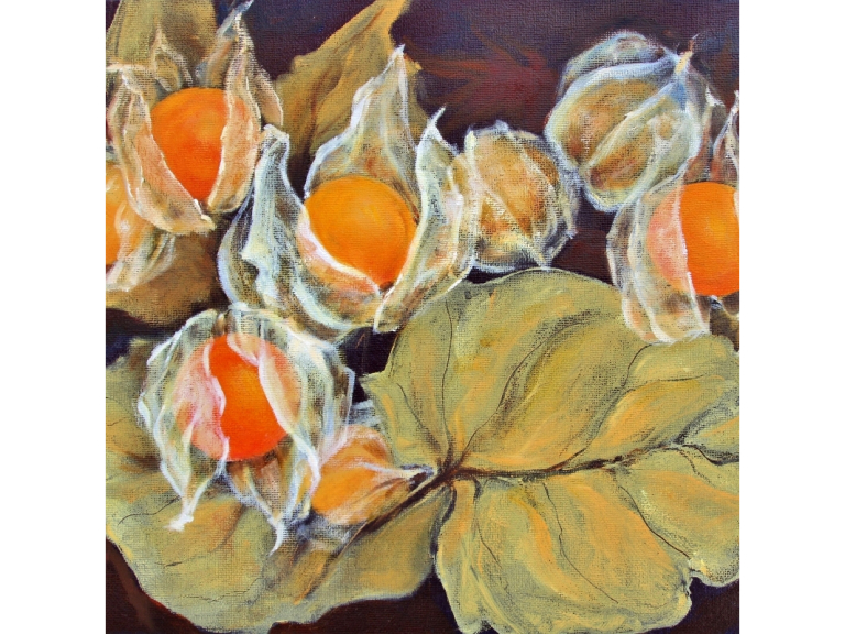 See Diana Braybrook's artwork at The Orchard Cafe