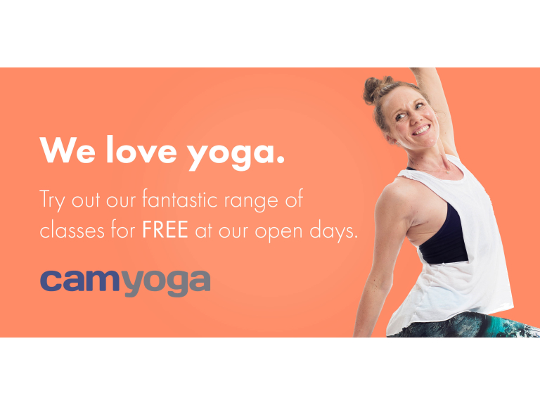 CAMYOGA Great Shelford Open Day - Free Taster Classes