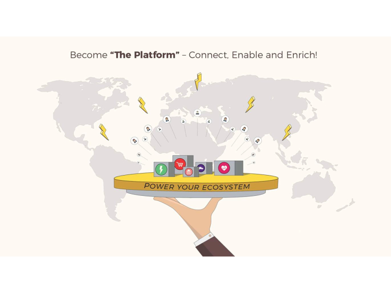 "Become ""The Platform"" – Connect, Enable and Enrich! – Slough (UK)"