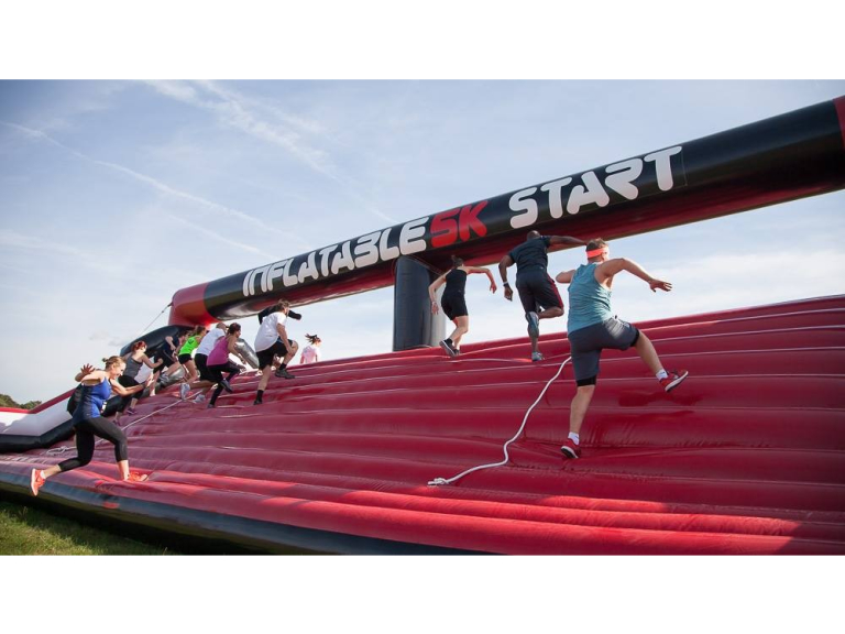 Inflatable 5k Obstacle Run