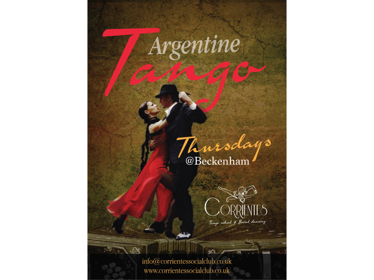 Argentine Tango Classes and Dancing
