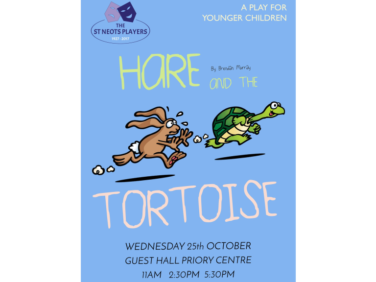 St Neots Players Presents … The Hare and the Tortoise - A play for younger children...