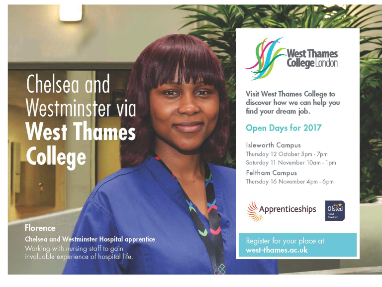 West Thames College Open Evening
