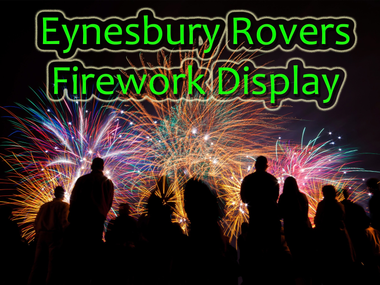 Fireworks Display - Eynesbury Rovers - St Neots - Sunday 5th Nov 2017