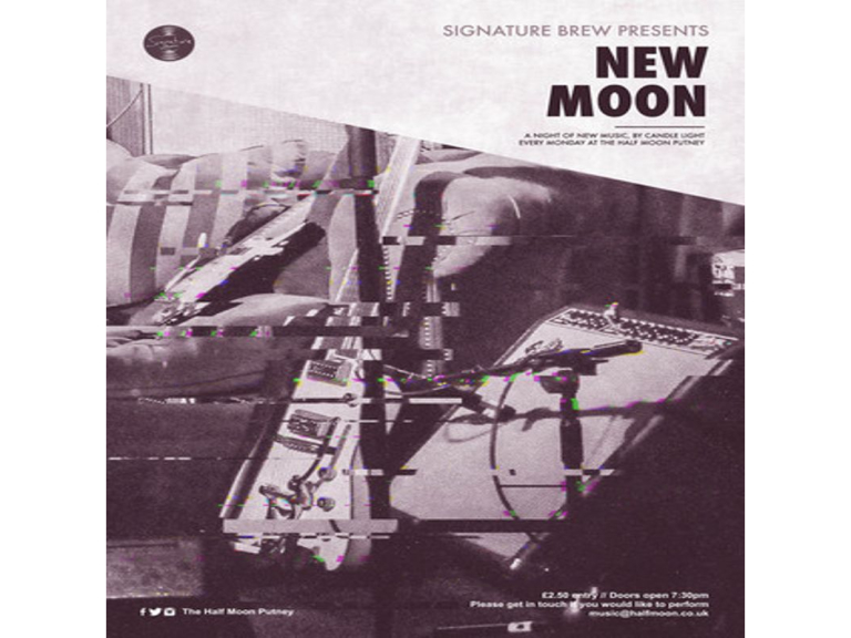New Moon - A Night of New Music @ The Half Moon Putney