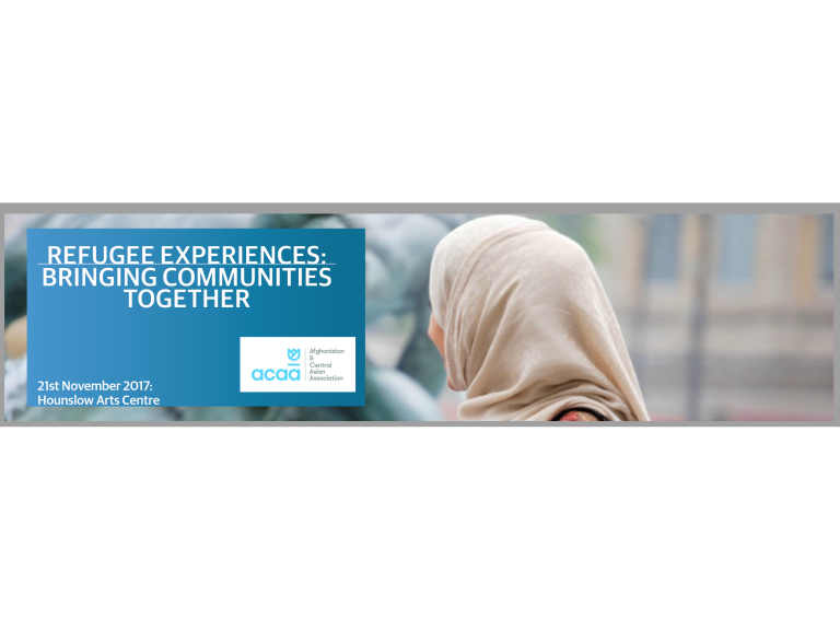 Refugee Experiences: Bringing Communities Together