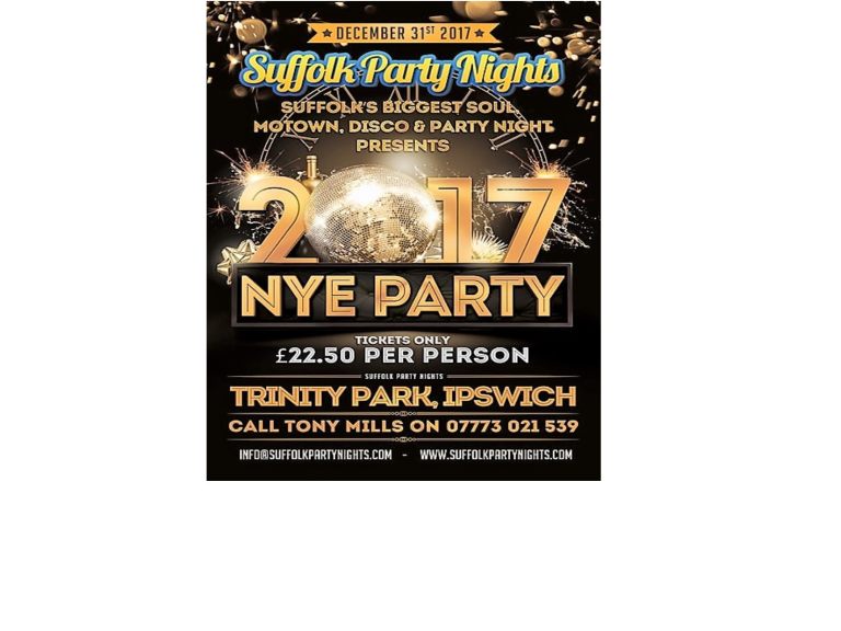 New Years Eve party at Trinity Park