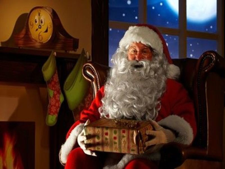 Free Santa's Grotto at St Tydfil Shopping Centre