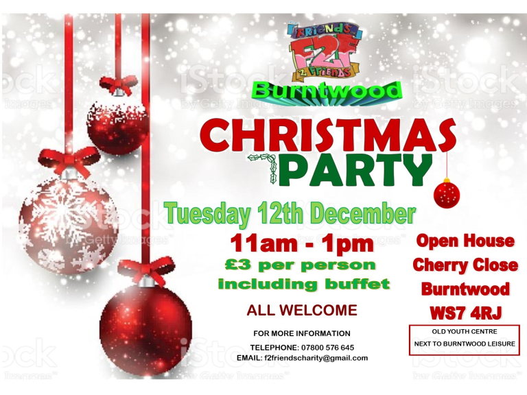 Christmas Party in Burntwood