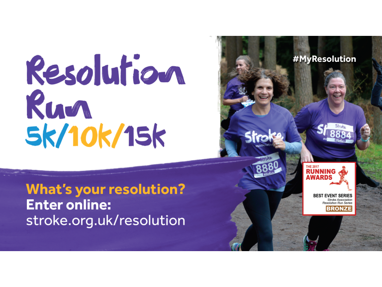 Stroke Association - Resolution Run (5k/10k) - Black Park, Slough