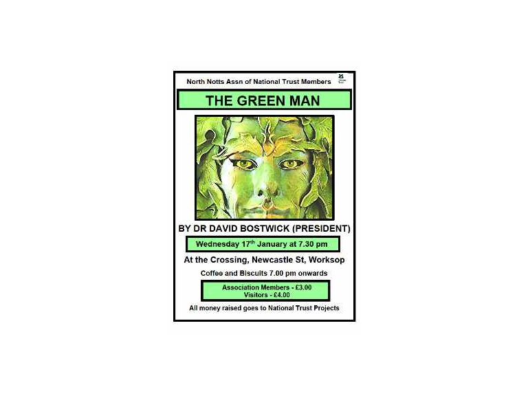 The Green Man in Art and Myth a talk by Dr David Bostwick