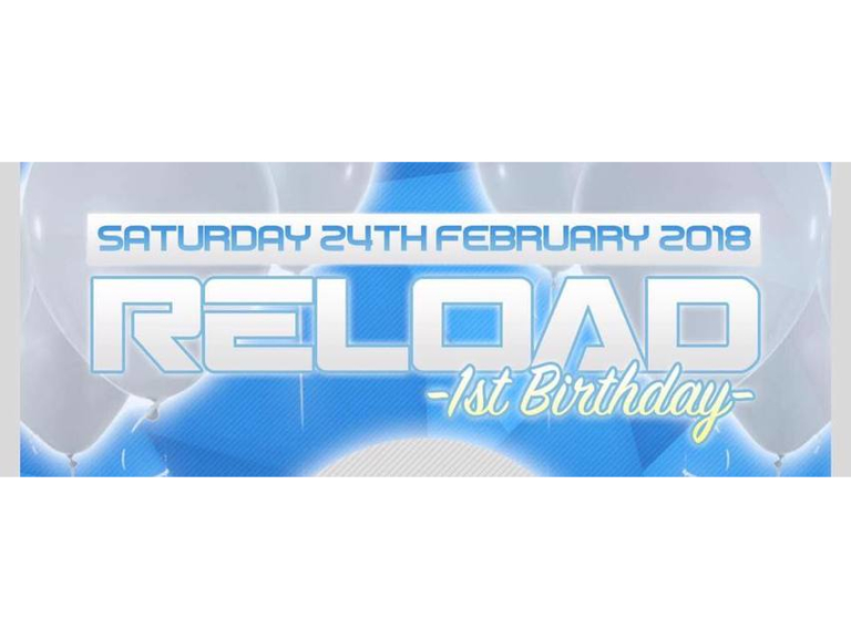 Reload Presents : 1st Birthday Rave - Starworks Warehouse