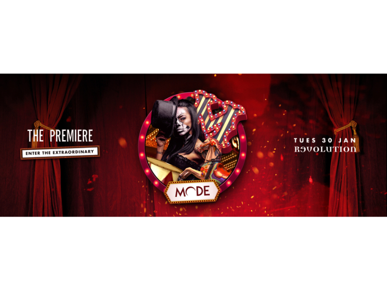 Mode // The Premiere: Enter The Extraordinary // 30th Jan