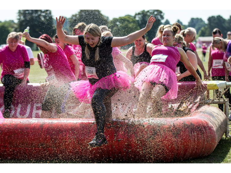 Cheshire Race For Life Pretty Muddy 5K & 10K