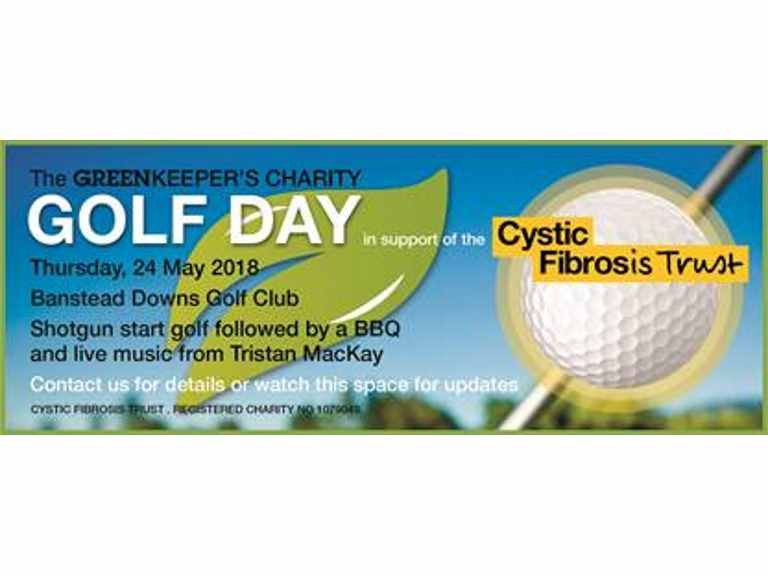 Charity Golf Day with The Greenkeeper – Epsom raising funds for Cystic Fibrosis Trust – at Banstead Downs
