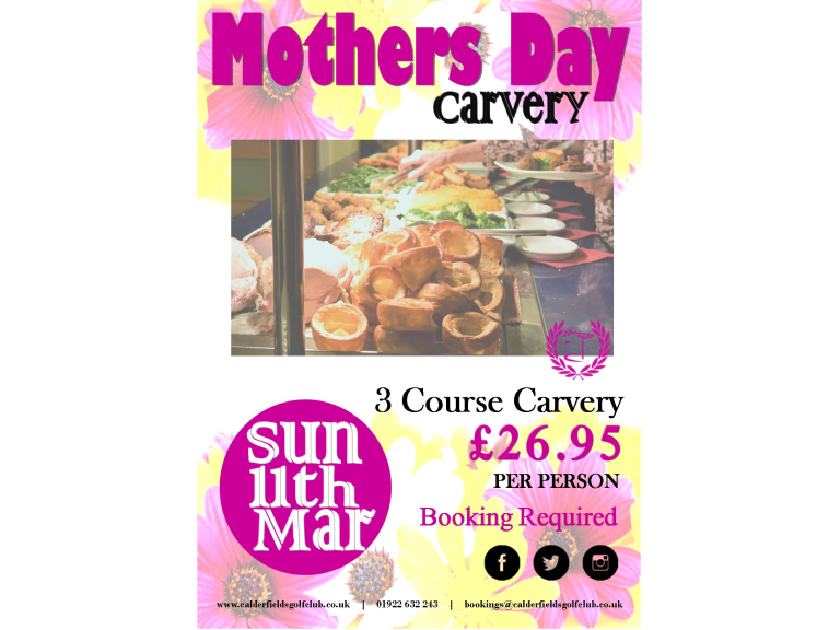 Mothers Day Carvery