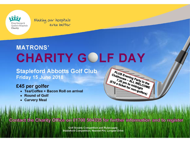 Matrons' Charity Golf Day