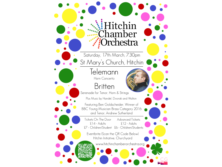 Hitchin Chamber Orchestra - Spring Concert