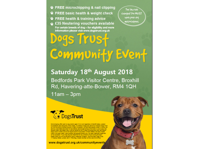 Dogs Trust Community Event