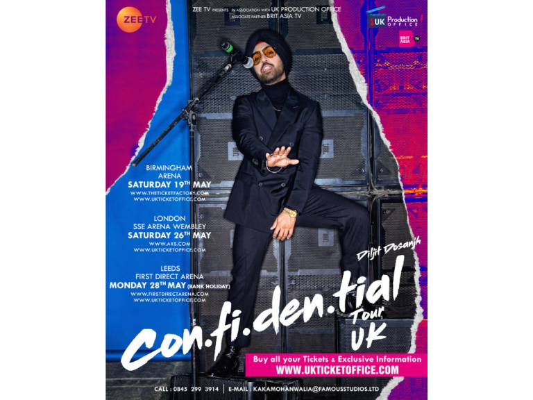 Manesh caterer's event with Diljit Dosanjh