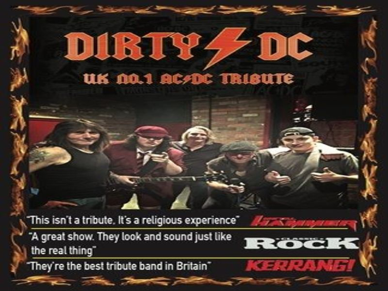 Dirty DC Weekender: AC/DC Tribute Live at The Half Moon Putney