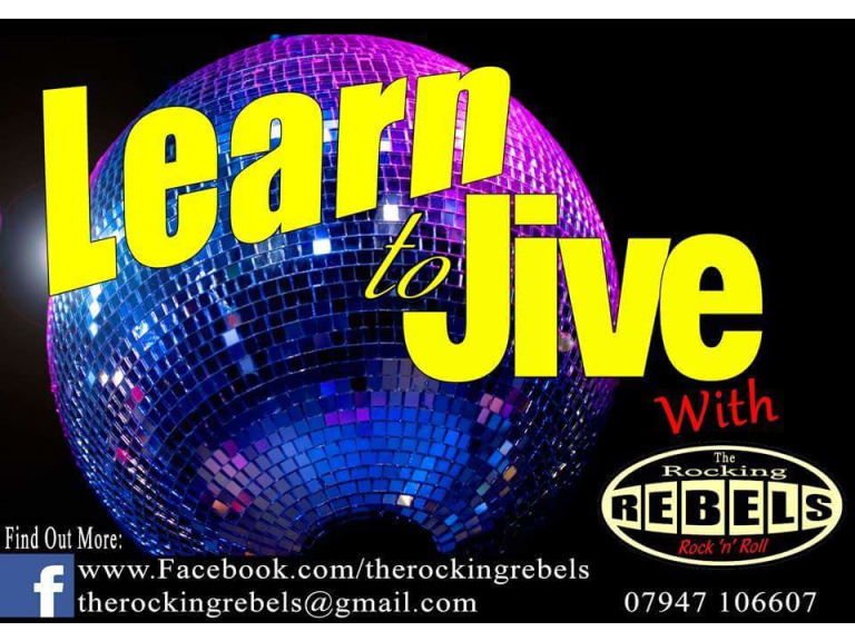 Beginners Jive Dance Classes - every Monday Harefield Uxbridge