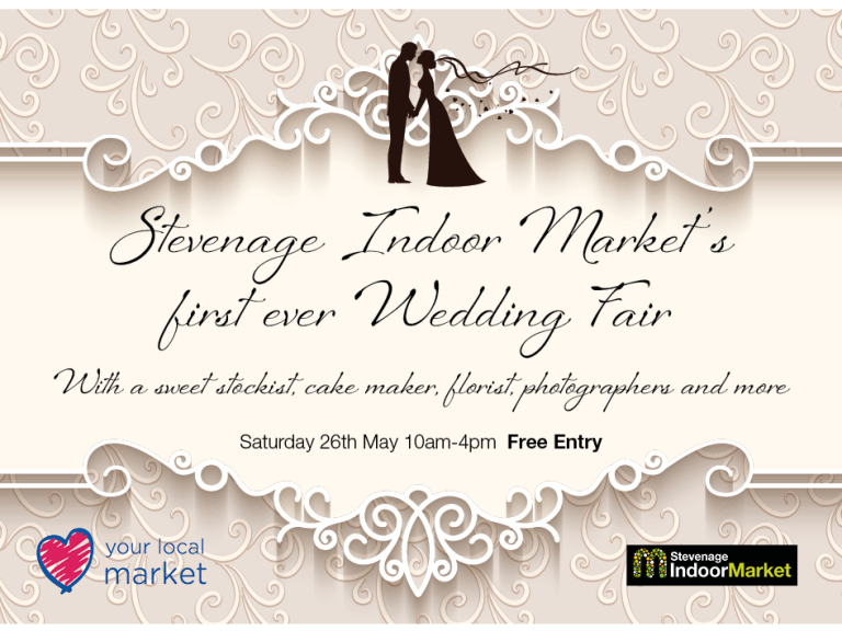 Stevenage Indoor Market's First Wedding Fair