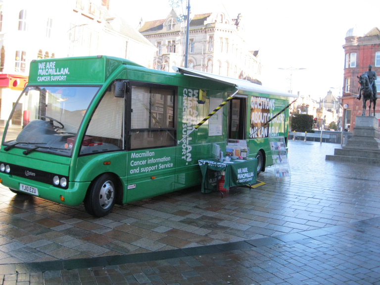 Macmillan Cancer Support Information Service in Chelmsford
