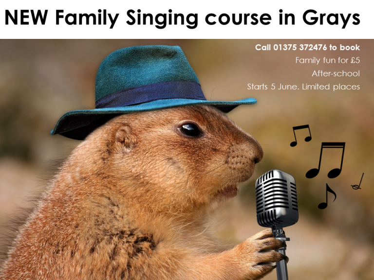 Singing for Families classes in Grays - after-school for families
