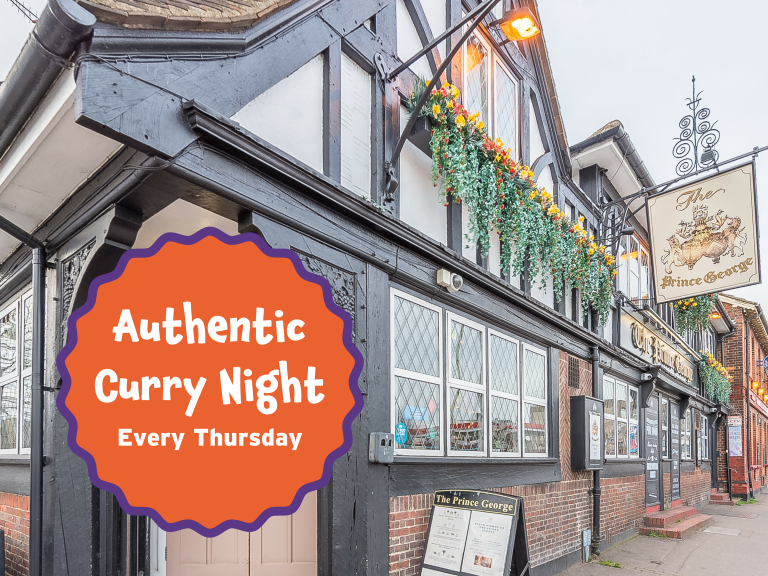 Curry Night at The Prince George