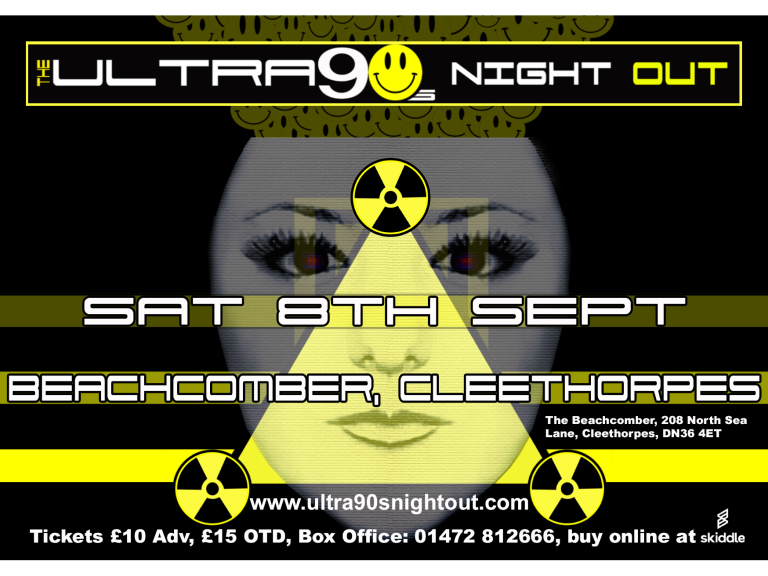 Ultra 90s Live in Cleethorpes