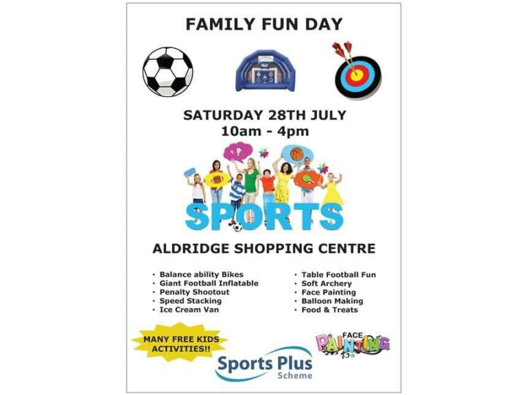Family Fun Day @ Aldridge Shopping Centre
