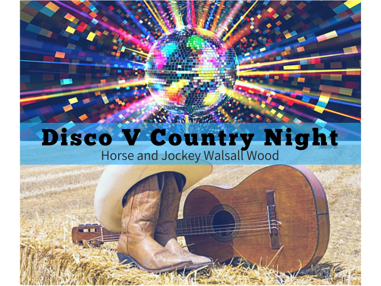 Disco Night @ Horse and Jockey Walsall Wood
