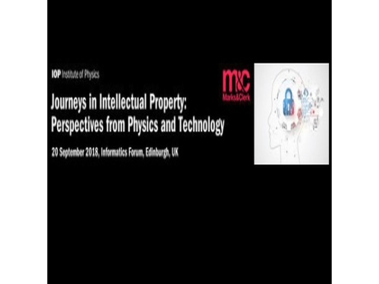Journeys in Intellectual Property: Perspectives from Physics and Technology