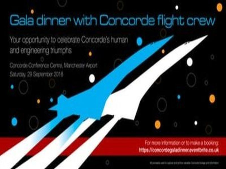 Gala Dinner with Concorde Flight Crew