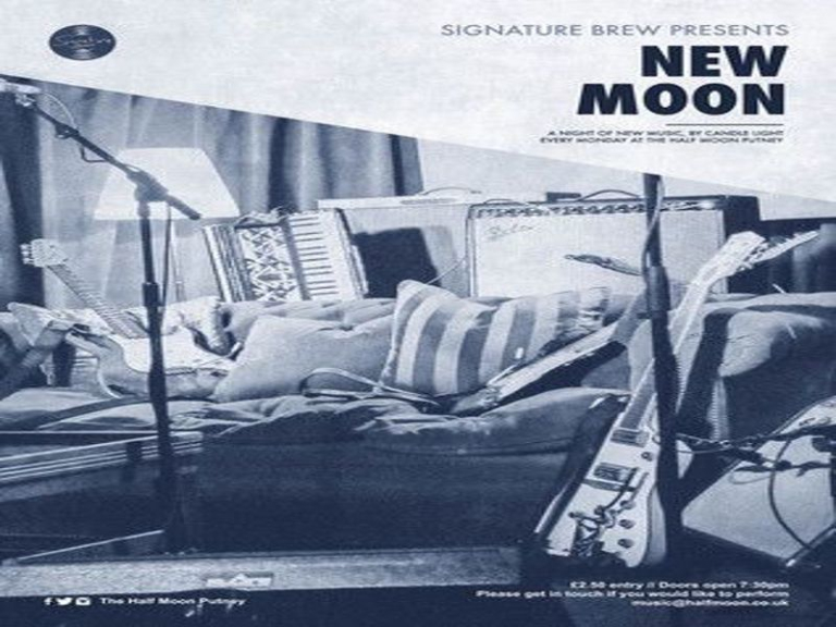 New Moon: A Night of New Music Live in Putney London: Monday 27th August