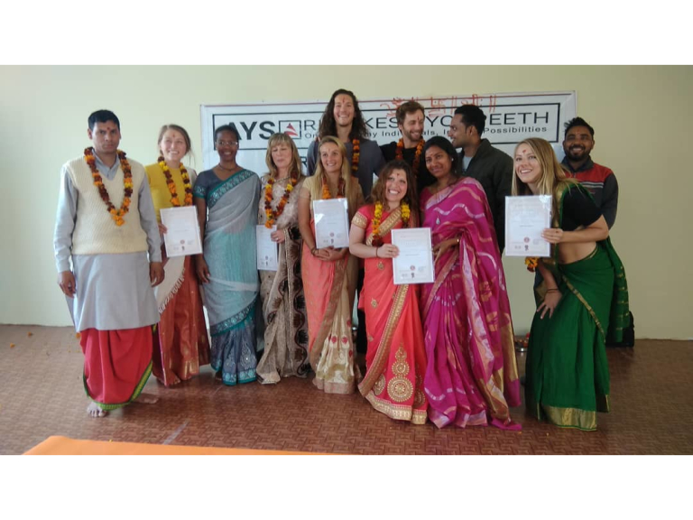 500 Hour Yoga Teacher Training Course In Rishikesh