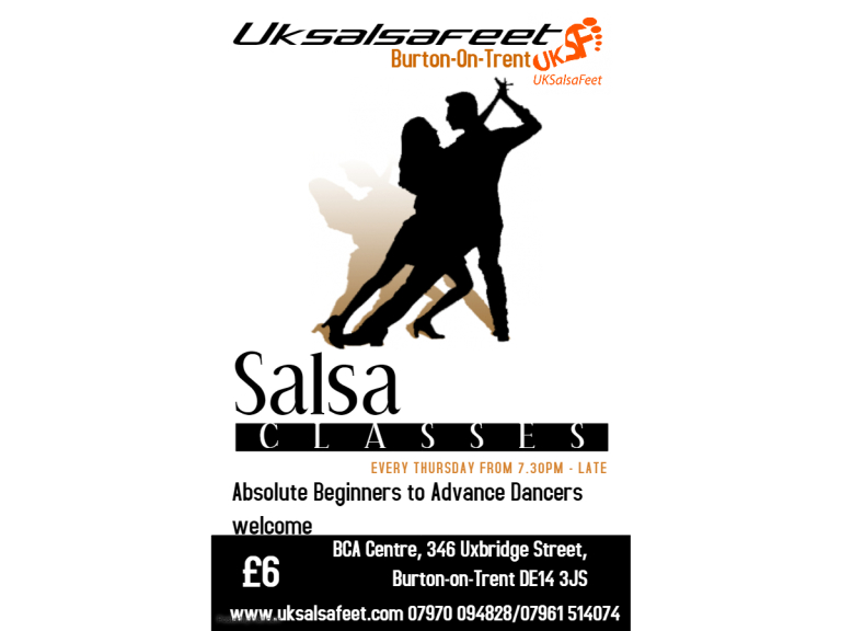 Burton On Trent Beginners Salsa Classes