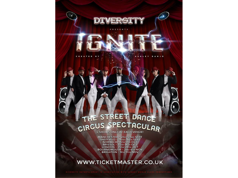 Diversity's IGNITE: The Street Dance Circus Spectacular