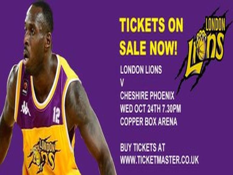 London Lions v Cheshire Phoenix - Premiership Basketball in London