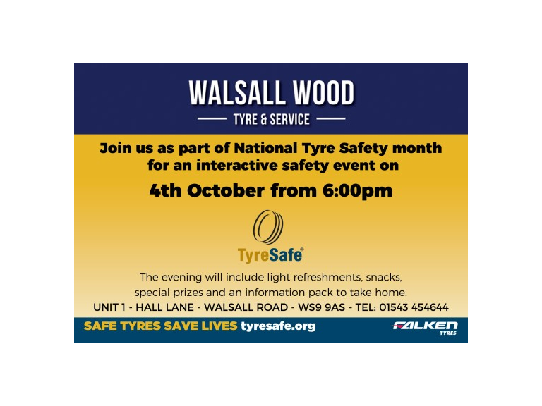 National Tyre Safety Month - Interactive Safety Event